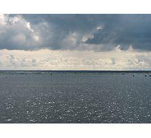 Backwater Dusk Photographic Print