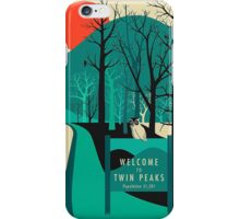 Twin Peaks - Modern Graphic iPhone Case/Skin