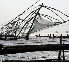 Chinese fishing nets by Petra Sonderegger