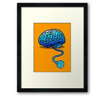 Disconnected Reality Framed Print