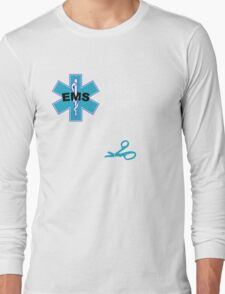EMS Humor - Naked Long Sleeve T-Shirt