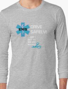 EMS Humor - Naked Long Sleeve T-Shirt