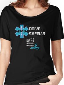 EMS Humor - Naked Women's Relaxed Fit T-Shirt