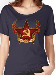 CCCP Army Women's Relaxed Fit T-Shirt