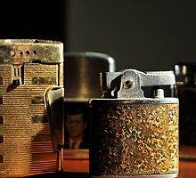 collection of lighters by Jeff Stroud