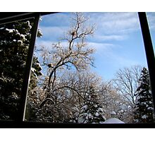 Window to Winter Photographic Print