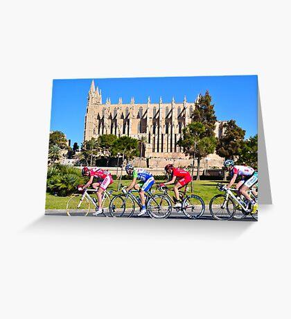 Mallorca Challenge 2011 Cycle Race Greeting Card
