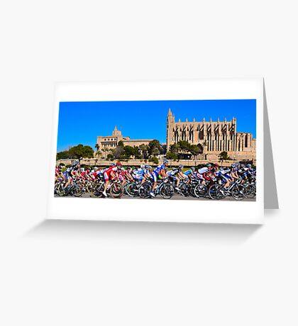 Mallorca Challenge 2011 Cycle Race II Greeting Card