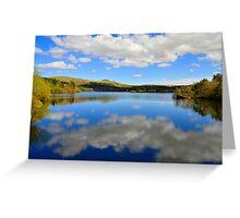Burrator reservoir  Greeting Card