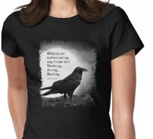 Midnight Raven Womens Fitted T-Shirt