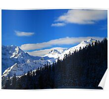 Suisse Alps, Wengen Poster