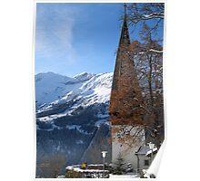 Suisse Alps, Wengen III Poster