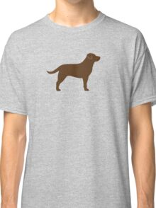 Chocolate Labrador Retriever Classic T-Shirt