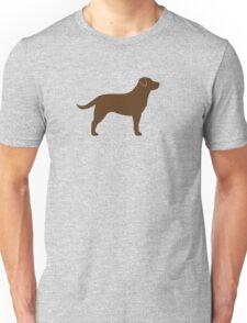 Chocolate Labrador Retriever Unisex T-Shirt