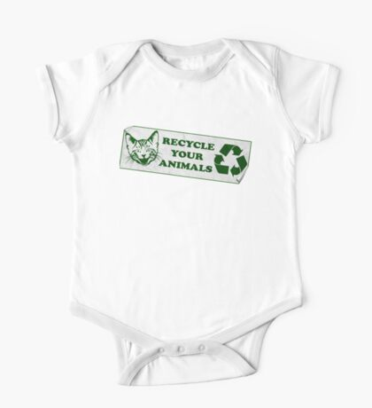 Recycle your Animals - Fight Club One Piece - Short Sleeve