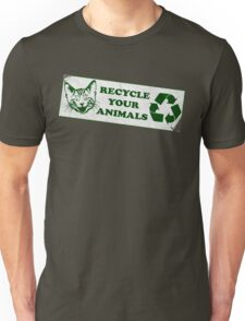 Recycle your Animals - Fight Club Unisex T-Shirt