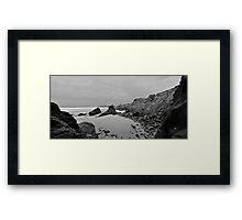 Bedruthan's Lair Framed Print