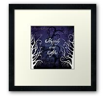Happily Ever After ~ Fairytale Enchanted Forest  Framed Print