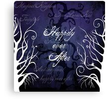Happily Ever After ~ Fairytale Enchanted Forest  Canvas Print