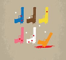No069 My Reservoir Dogs minimal movie poster by JinYong
