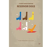 No069 My Reservoir Dogs minimal movie poster Photographic Print