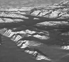 Glacier Bay in Black & White by Bob Moore