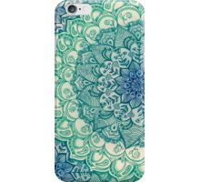 Emerald Doodle iPhone Case/Skin