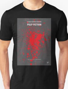 No067 My Pulp Fiction minimal movie poster Unisex T-Shirt