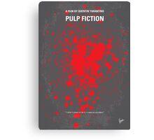 No067 My Pulp Fiction minimal movie poster Canvas Print