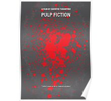 No067 My Pulp Fiction minimal movie poster Poster