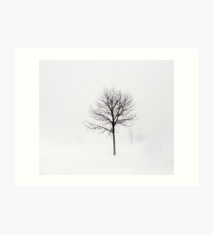 Minimum visibility Art Print