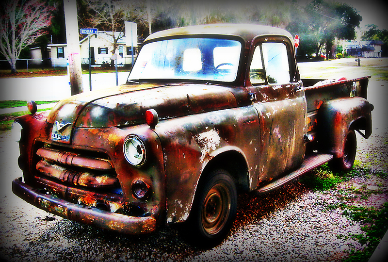 1954 Dodge Pickup Truck NEEDS HELP! by Debbie Robbins