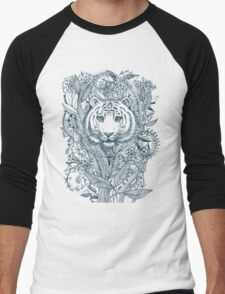 Tiger Tangle Men's Baseball ¾ T-Shirt