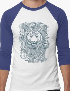 Tiger Tangle Men's Baseball ¾ T-Shirt