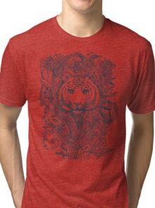 Tiger Tangle Tri-blend T-Shirt