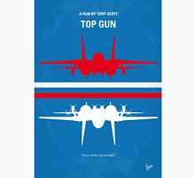 No128 My TOP GUN minimal movie poster T-Shirt