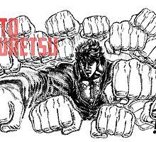 Kenshiro Hokuto No Ken - Hyakuretsu Ken by HikenNoFlo