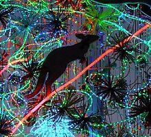 Electric Kangaroo by Bloomin' Arty