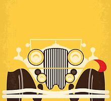 No206 My The Great Gatsby minimal movie poster by JinYong