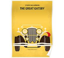 No206 My The Great Gatsby minimal movie poster Poster