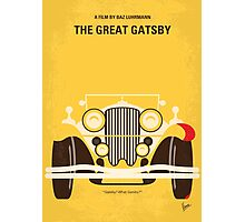 No206 My The Great Gatsby minimal movie poster Photographic Print