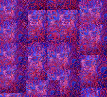 Maze Within A Labyrinth by Richard  Tuvey