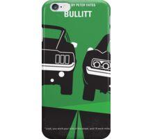 No214 My BULLITT minimal movie poster iPhone Case/Skin