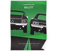 No214 My BULLITT minimal movie poster Poster
