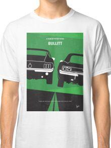 No214 My BULLITT minimal movie poster Classic T-Shirt