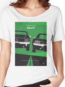 No214 My BULLITT minimal movie poster Women's Relaxed Fit T-Shirt