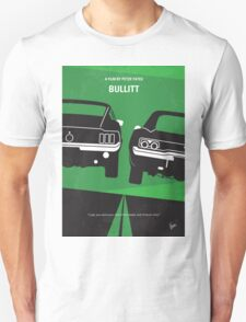 No214 My BULLITT minimal movie poster T-Shirt
