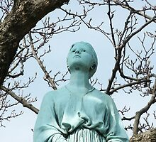 The Bronze Lady, View 2 by FlightsofFancie