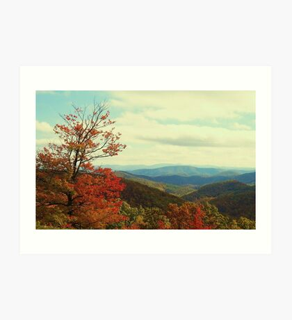 Great Smoky Mountains, NC Art Print