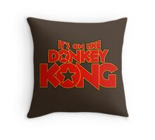 It's on like Kong! V2 Throw Pillow